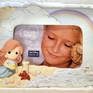 Disney Little Mermaid Precious Moments Frame NEW
